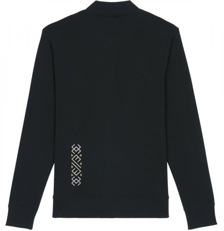 Jachetă Semne Bune, broderie, culoare neagră1