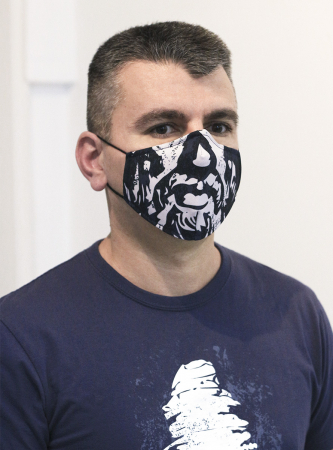 Mască textilă Decebal