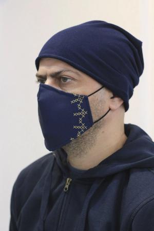 Mască textilă Simboluri Românești1
