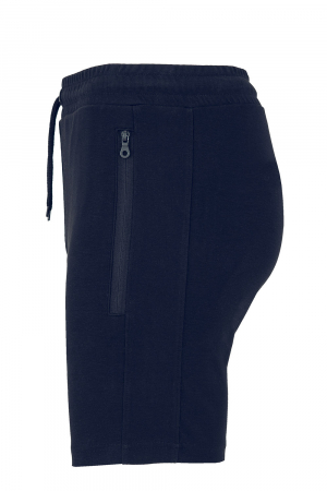 Pantaloni scurți Cap de Bour, broderie, culoare bleumarin [1]