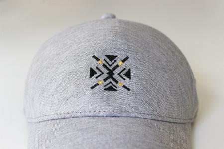 Șapcă ColorEscu, fără cusături, broderie. culoare gri [2]