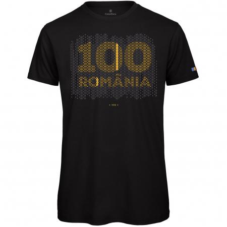 Tricou 100 România - bărbat0