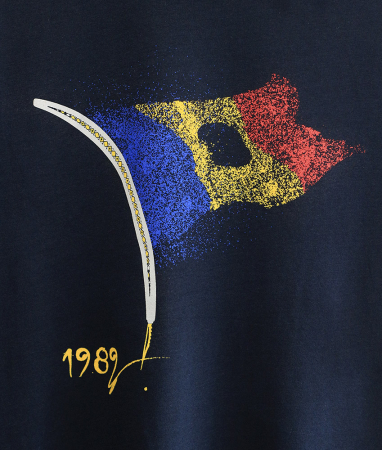 Tricou 1989, bărbat, culoare bleumarin1
