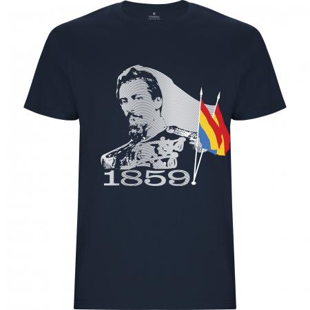 Tricou Alexandru Ioan Cuza, culoare bleumarin [0]