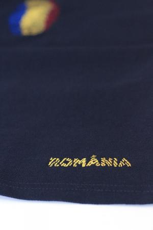 Tricou Amprentă România, brodat, bărbătesc2