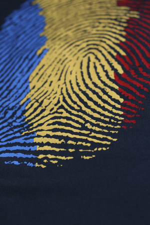 Tricou Amprentă România - bărbat1