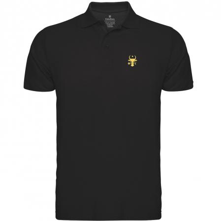 Tricou Cap de Bour, broderie, culoare neagră [0]