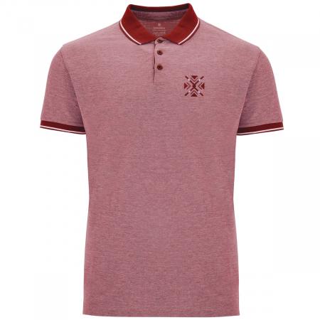 Tricou ColorEscu, broderie, culoare roșu0