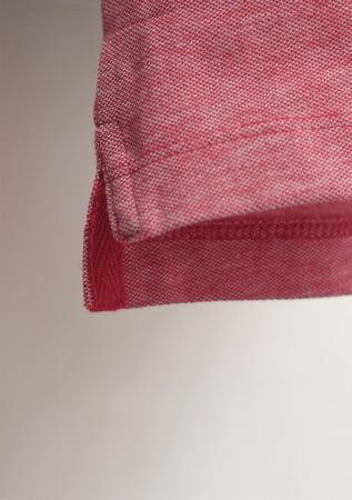 Tricou ColorEscu, broderie, culoare roșu3