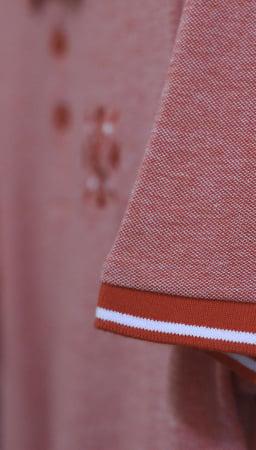 Tricou ColorEscu, broderie, culoare roșu2