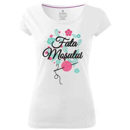 Tricou Fata Moșului, culoare albă0