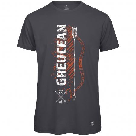 Tricou Greucean, culoare gri închis0