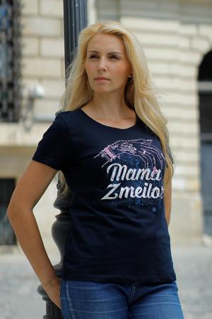 Tricou Mama Zmeilor, CP22, culoare bleumarin3