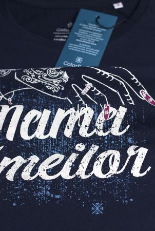 Tricou Mama Zmeilor, CP22, culoare bleumarin2