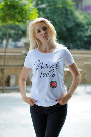Tricou - Natural 100%, fără cusur1