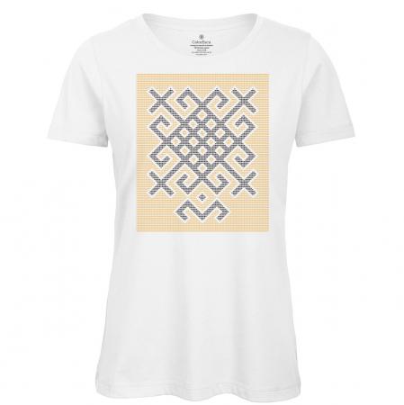 Tricou Origini - alb, damă0