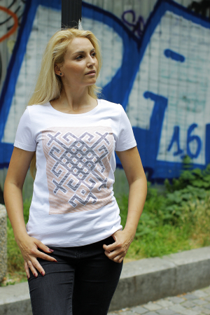 Tricou Origini - alb, damă1
