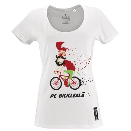 Tricou Pe bicicleală - damă0
