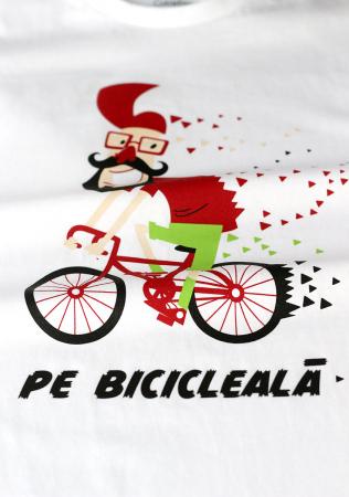 Tricou Pe bicicleală - damă1