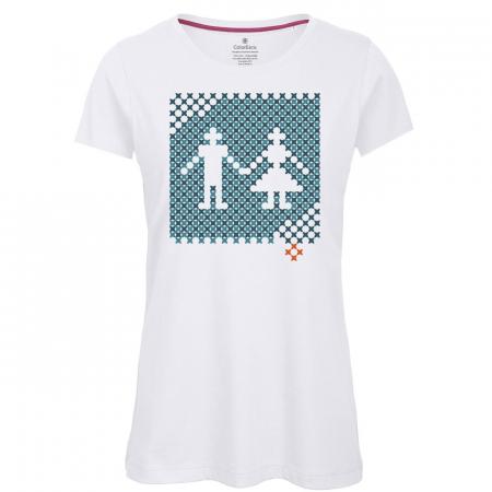 Tricou Pe Românește - damă0