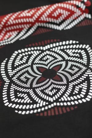 Tricou simbol Lupul Dacic - bărbat, negru2