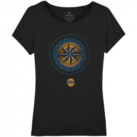 Tricou Simbol, damă, culoare neagră0