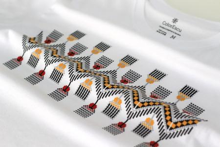 Tricou Tradiții, bărbat, culoare albă [3]