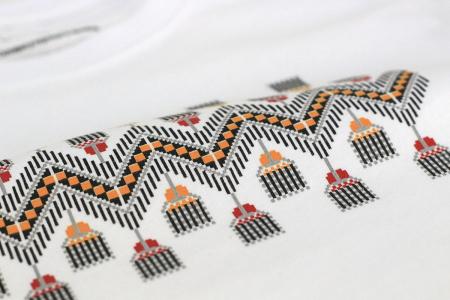 Tricou Tradiții, copii, culoare albă [1]