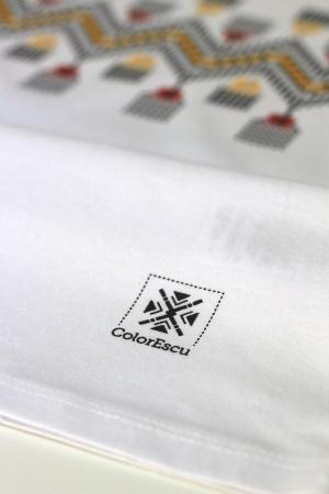 Tricou Tradiții, damă, culoare albă [2]