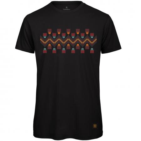 Tricou Tradiții, bărbat, culoare neagră0