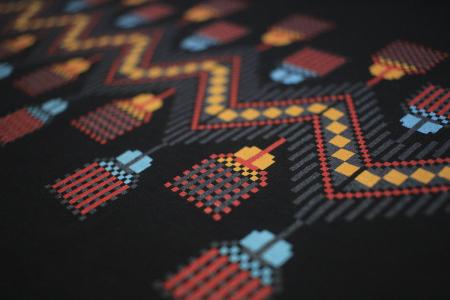 Tricou Tradiții, bărbat, culoare neagră2