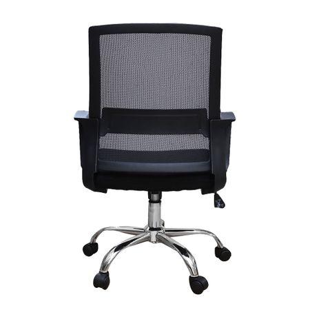 Scaun de birou ergonomic VEKTOR, mesh, negru [3]
