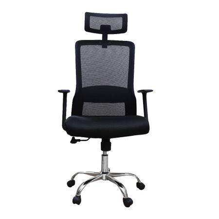 Scaun de birou ergonomic HELSINKI, mesh, negru 1