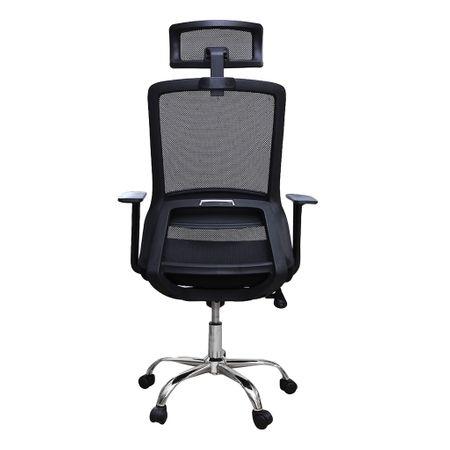 Scaun de birou ergonomic HELSINKI, mesh, negru 3