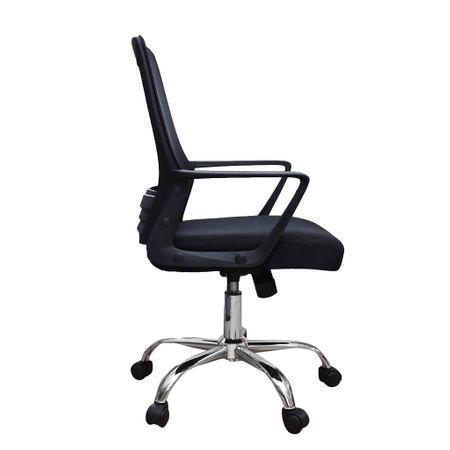 Scaun de birou ergonomic CANNES, mesh, negru 2