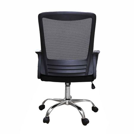Scaun de birou ergonomic CANNES, mesh, negru 3