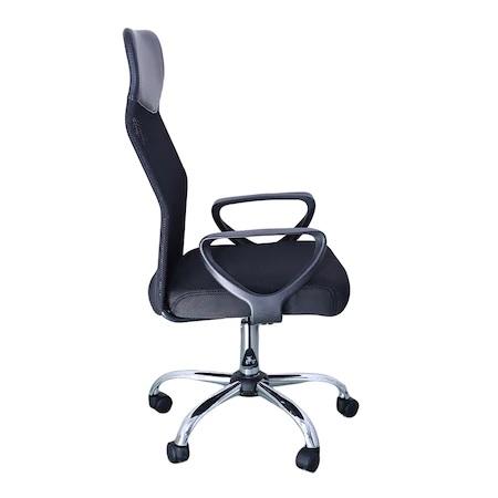 Scaun de birou ergonomic BENZA, Mesh, Negru [2]