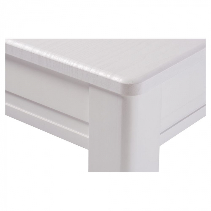 Masa de bucatarie extensibila BREFY, 115(155)*75 cm, White [2]