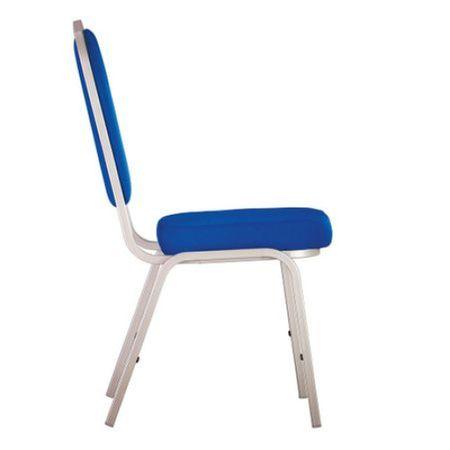 Scaun bucatarie Tailor Alu, Albastru stofa lusso 3