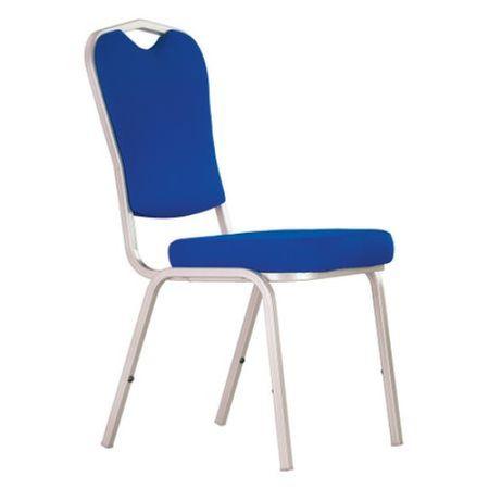 Scaun bucatarie Tailor Alu, Albastru stofa lusso 0