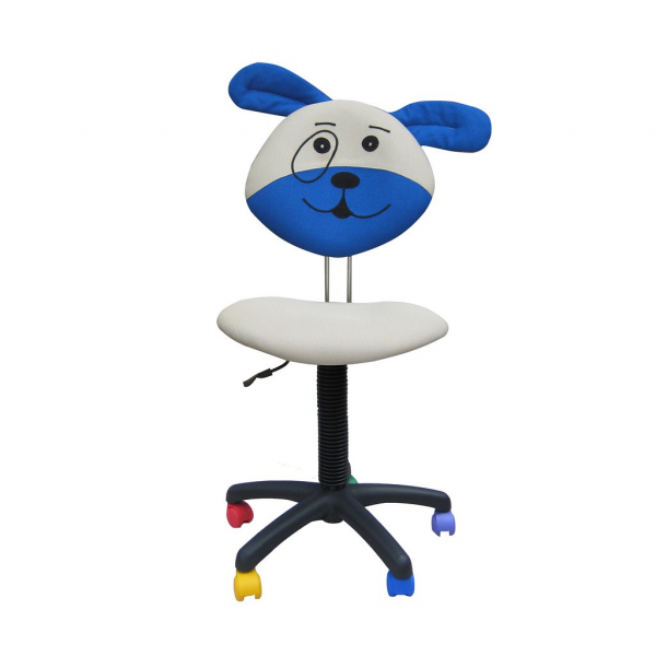 Scaun copii DOGGY, Gri-albastru stofa microsolco 0