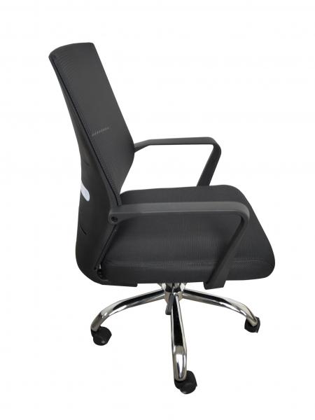 Scaun de birou ergonomic AURORA, Mesh, Negru [2]