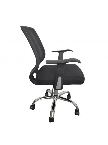 Scaun de birou ergonomic DIEGO, Mesh/Textil, Negru [2]