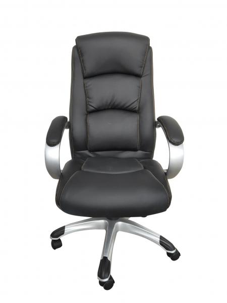 Scaun de birou ergonomic OPTIMAL, PU, Negru 0