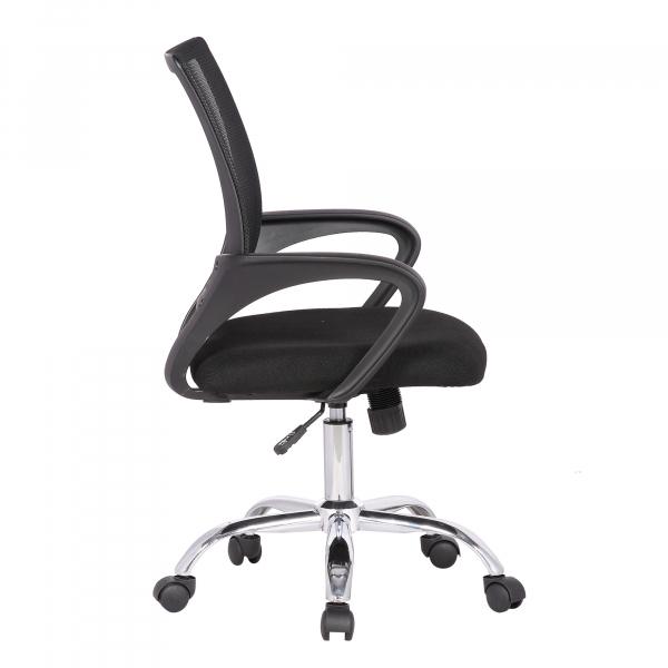 Scaun de birou ergonomic TEXO, Negru, Mesh/Textil [2]