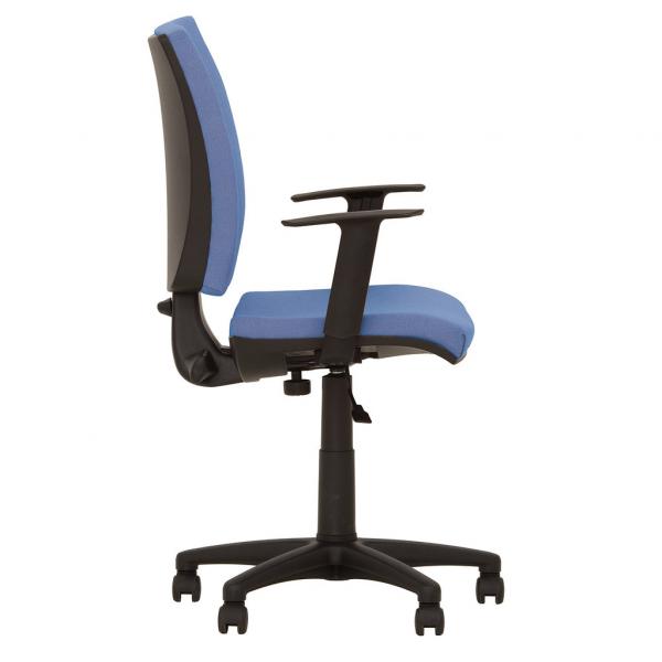 Scaun de birou FIVE GTR, Albastru deschis stofa lusso [2]