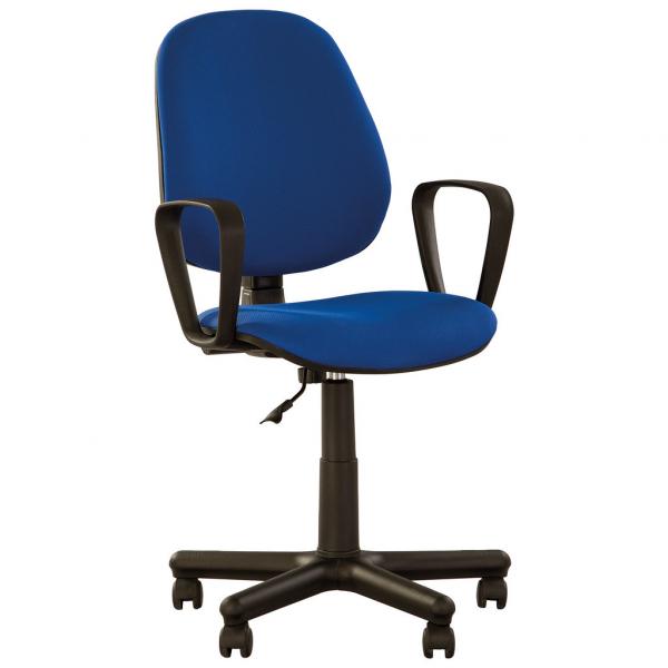 Scaun de birou KOVACS, Albastru stofa cagliari [0]