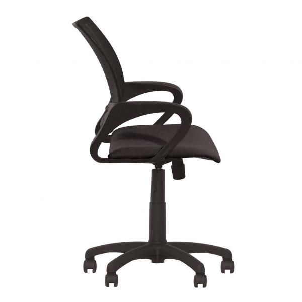 Scaun de birou NETIC  GTP, Negru stofa cagliari 2