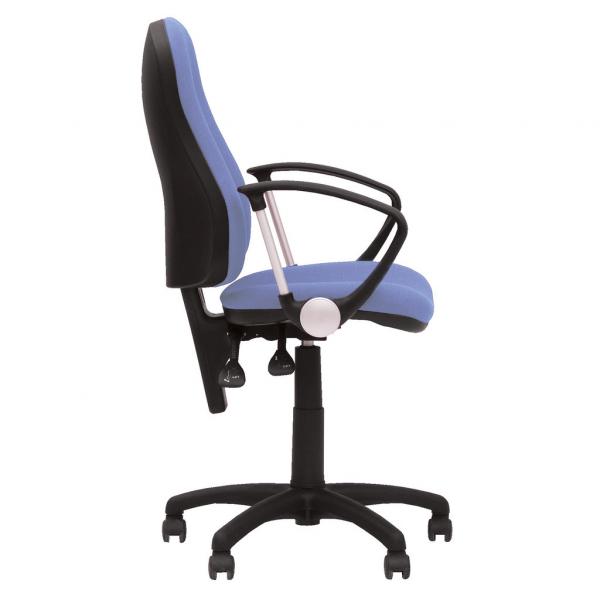 Scaun de birou OFFICE GTP, Albastru deschis stofa fiji 2