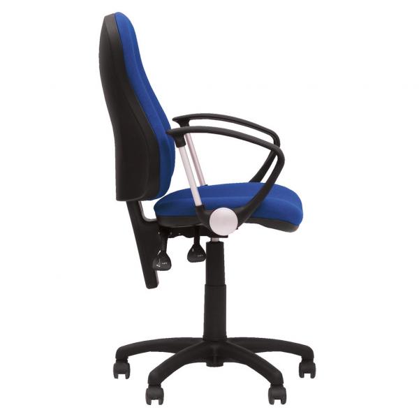 Scaun de birou OFFICE GTP, Albastru safir stofa zesta [2]